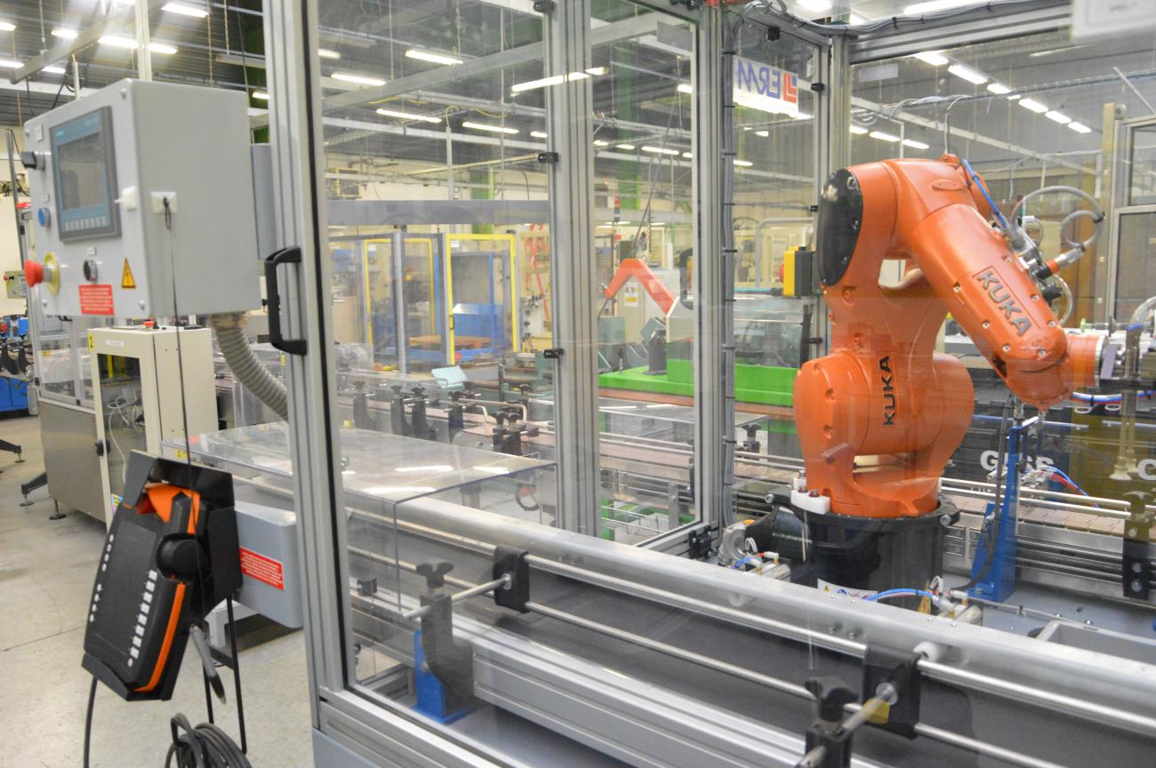 Process Robotique PROMEO Saint-Quentin