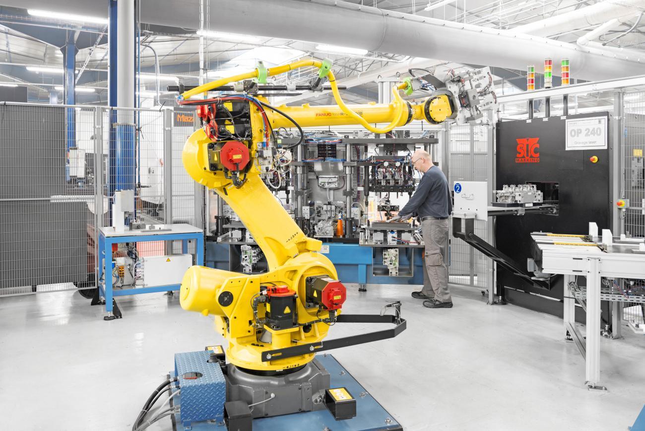 Formations en robotique et cobotique industrielle