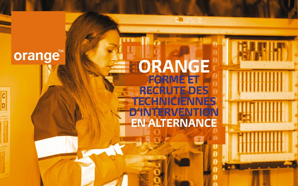 orange recrutement